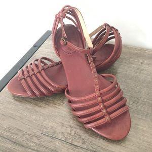 Frye Naomi strappy sandal size 7